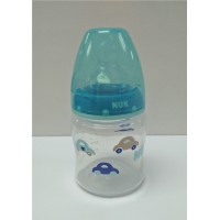 ​NUK - Premium Choice Wide Neck Silicone Teat Bottle PP Car (150ml)