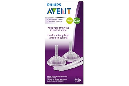 Avent Replacement Straw For Bendy Straw Cup 7/10oz (2pcs)