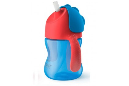 Avent Bendy Straw Cup 7oz (Blue)