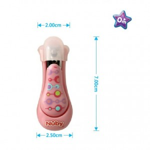 Nuby Nail Clippers (Pink)