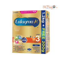 Enfagrow A+ Step 3 Milk Powder (1-3 Years) 1.2kg + FOC 200g (1.4kg) BIB