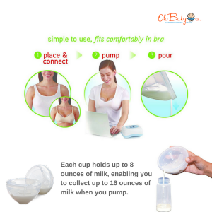 Spectra M1 Double Electric Breast Pump & Freemie Package