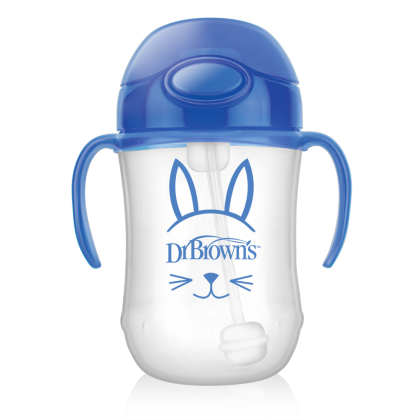 Dr Brown's Baby First Straw Cup with Handle (270ml)