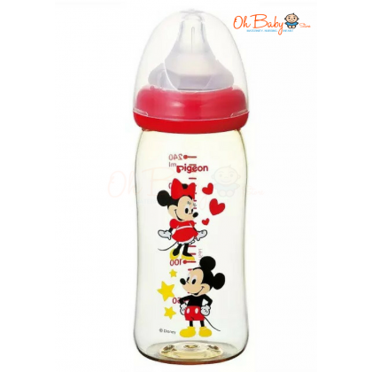 Pigeon  WN PPSU Bottle 240ml Mickey