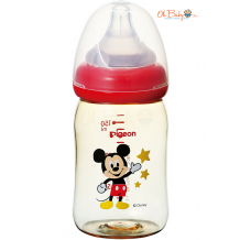 Pigeon WN PPSU Bottle 160ml Mickey