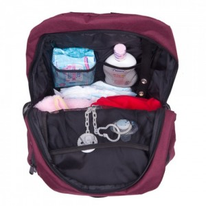 Autumnz Perfect Diaper Bag (Maroon)