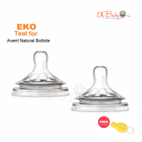 Eko Silicone Teat for Philips Avent Natural S/M/L/XL/Cross Cut