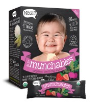 Nosh Baby Munchables Organic Teething Wafers (Strawberry and Beet)