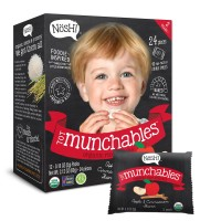 Nosh Tot Munchables Organic Rice Snack (Apple and Cinnamon)