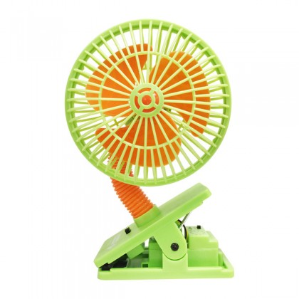 Lucky Baby Multi Safety Fan With Ultrasonic Mosquito Repellent - Green