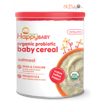 Happy Baby Oatmeal Baby Cereal (198g)