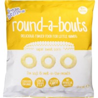 Little Bellies round-a-bouts Sweet Corn 12g