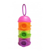 Lucky Baby Milk Powder Stacker - Pink Cover