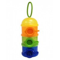 Lucky Baby Milk Powder Stacker - Yellow Cover