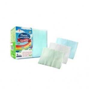 Pureen Baby Napkins Colourful