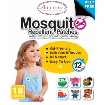 Autumnz Mosquito Repellent Patches (18 Patches)