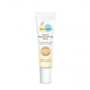 Lamoon Organic Nipple And Lip Balm 10g
