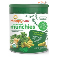 Happy Baby Superfood Munchies Organic Baked Snack
