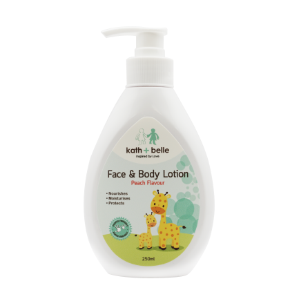 Kath+Belle Face & Body Lotion (250ml)
