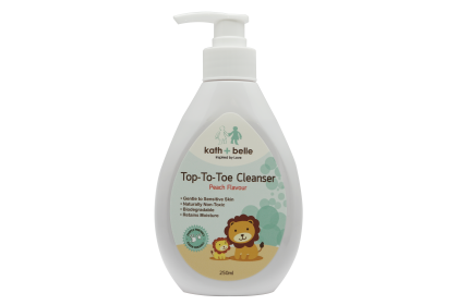 Kath+Belle Top To Toe Cleanser 250ml (Peach Flavour)