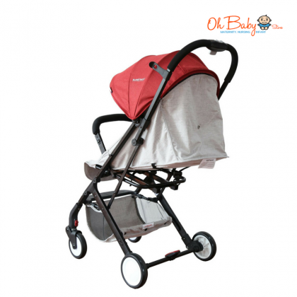 Sweet Heart Paris ST333 Baby Stroller with Luggage Folded