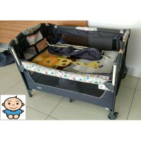 My Dear  Baby Playpen with Side Slide Door 26014 (Animal D)