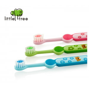 Little Tree Toothbrush 2-4 Years (Buy 1 Free 1)