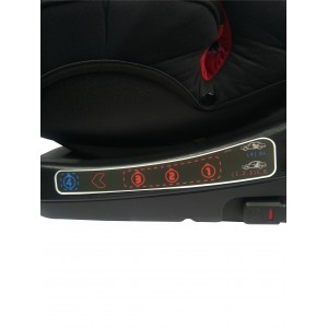 Crolla S+ Isofix  (Bright Red & Two Tone Black)
