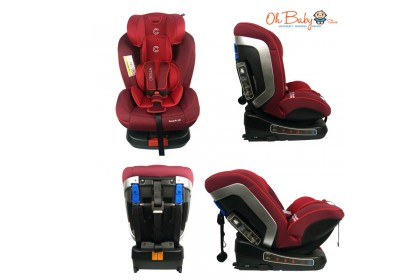 Crolla S+ Isofix Car Seat New born - 7 years [FREE CAR SEAT PROTECTOR]