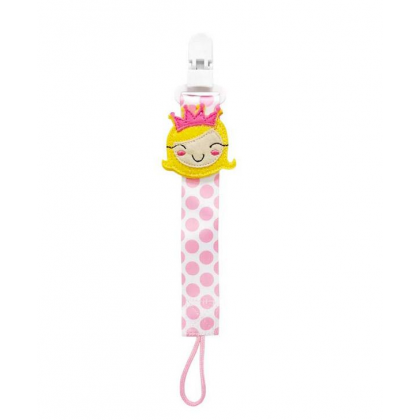 Lucky Baby Pacifier Holder Princess