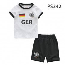 Holabebe Football T-shirt And Pants Set (Germany Team) White