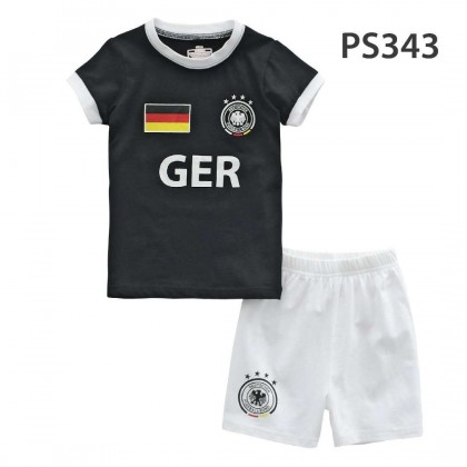 Holabebe Football T-shirt And Pants Set (Germany Team) Black