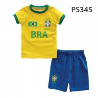 Holabebe Football T-shirt And Pants Set (Brazil Team)