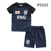 Holabebe Football T-shirt And Pants Set (England Team) Dark Blue