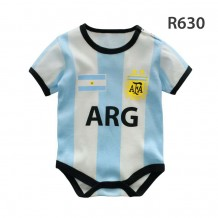 Holabebe Football Designed Rompers (Argentina Team)
