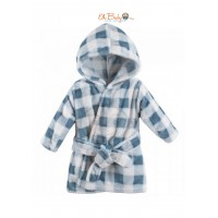Luvable Friends Bath Robe (Blue)