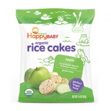 Happy Baby Rice Cakes Apple 40g