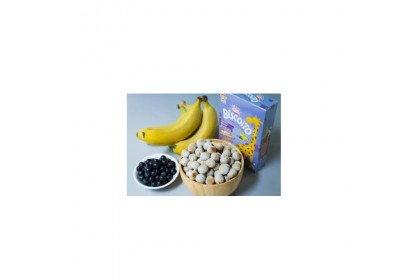 Apple Monkey Biscoito Blueberry And Banana