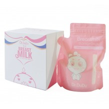 Dr.Dudu Breastmilk Storage Bag Pink 250ml (60Pcs)