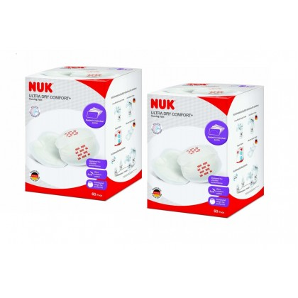 NUK  New Ultra Dry Breast Pads (60s x 2)