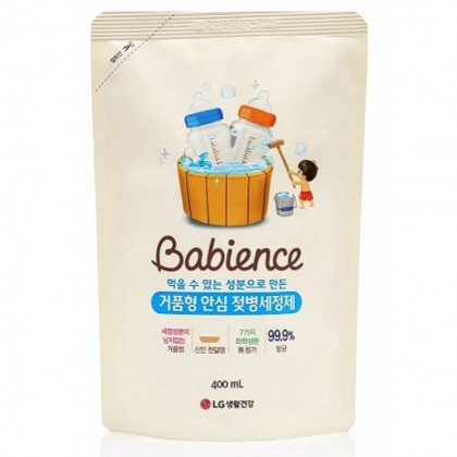 LG Babience Baby Bottle Wash Refill 400ml