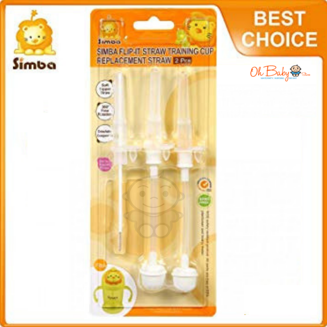 Simba Flip It Straw Training Cup Replacement Straw
