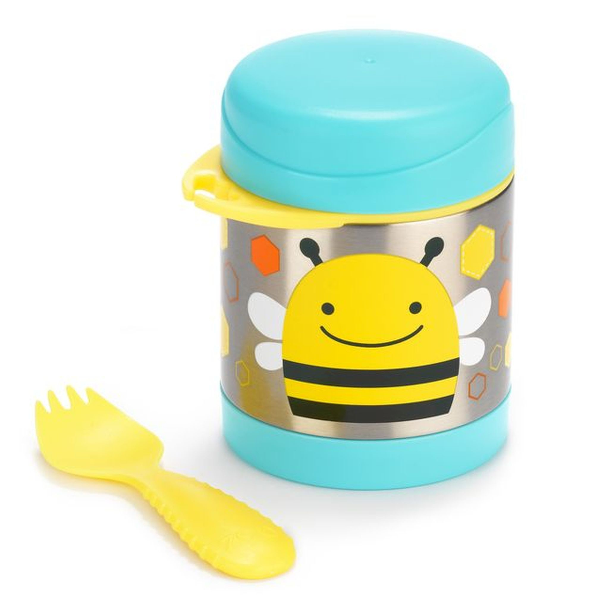 Skip Hop Insulated Food Jar Bee