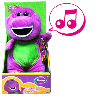 Barney Plush Toy 10 Quot Singing Barney