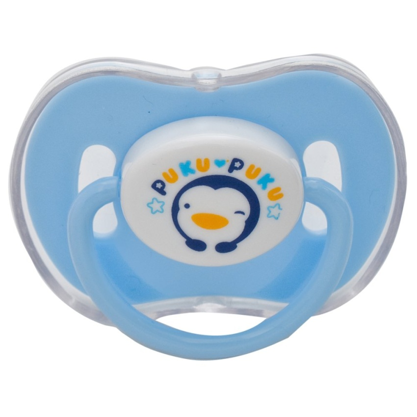 Puku Baby Pacifier With Cover 0m